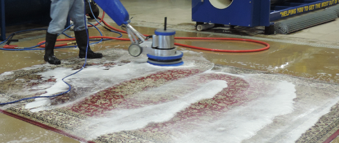 Machine Rug cleaning Hampton