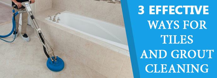 3 Effective Ways For Tiles and Grout Cleaning