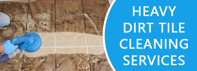 Heavy Dirt Tile Cleaning