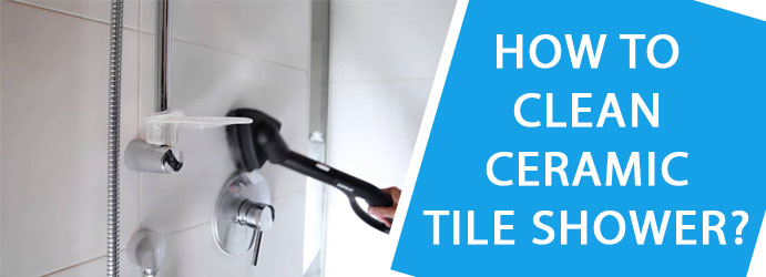 Ceramic Tile Shower Cleaning