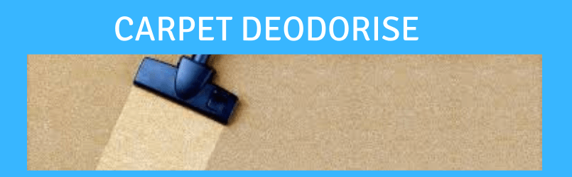 4 Ways to Effectively Deodorise your Carpet